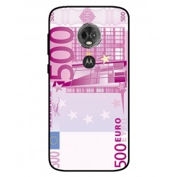 Durable 500 Euro Note Cover For Motorola Moto E5 Plus