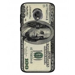 Durable 100 Dollar Note Cover For Motorola Moto E5 Plus