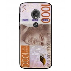 Durable 1000Kr Sweden Note Cover For Motorola Moto E5 Plus
