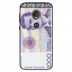 1000 Norwegian Kroner Note Cover For Motorola Moto E5 Plus