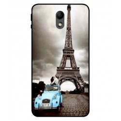 Durable Paris Eiffel Tower Cover For Wiko Kenny