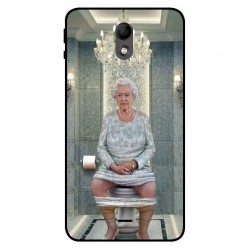 Durable Queen Elizabeth On The Toilet Cover For Wiko Kenny