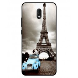 Durable Paris Eiffel Tower Cover For Wiko Lenny 5