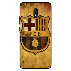 Durable FC Barcelona Cover For Wiko Lenny 5