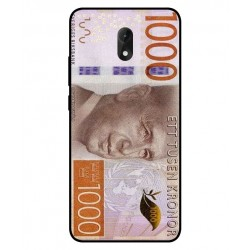 Durable 1000Kr Sweden Note Cover For Wiko Lenny 5