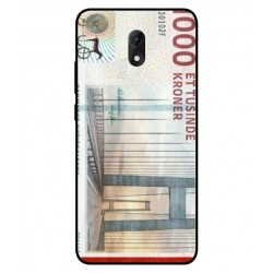 1000 Danish Kroner Note Cover For Wiko Lenny 5