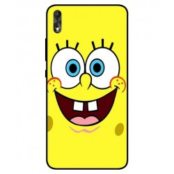 Durable SpongeBob Cover For Wiko Robby 2