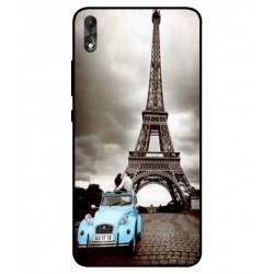 Durable Paris Eiffel Tower Cover For Wiko Robby 2