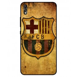 Durable FC Barcelona Cover For Wiko Robby 2