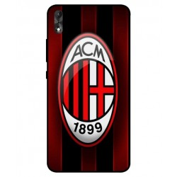 Durable AC Milan Cover For Wiko Robby 2