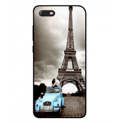 Durable Paris Eiffel Tower Cover For Wiko Tommy 3