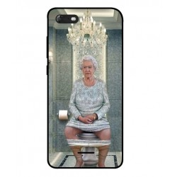Durable Queen Elizabeth On The Toilet Cover For Wiko Tommy 3