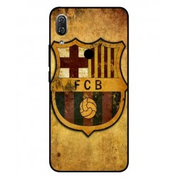 Durable FC Barcelona Cover For Wiko View 2