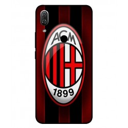 Durable AC Milan Cover For Wiko View 2 Pro