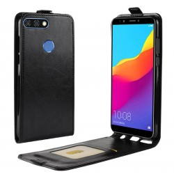 Flip Leather Cover For Huawei Y9 2018