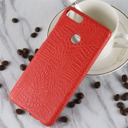 Hard Leather Cover For Huawei Y9 2018