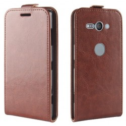 Flip Leather Cover For Sony Xperia XZ2 Compact