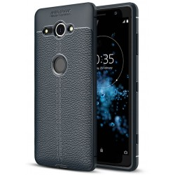 Soft Leather Cover For Sony Xperia XZ2 Compact