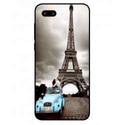 Durable Paris Eiffel Tower Cover For Huawei Honor 10