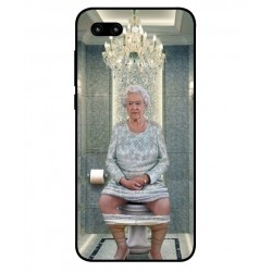 Durable Queen Elizabeth On The Toilet Cover For Huawei Honor 10