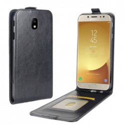 Flip Leather Cover For Samsung Galaxy J5 (2017)