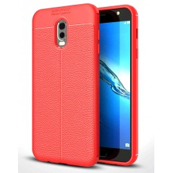 Soft Leather Cover For Samsung Galaxy C7 (2017)