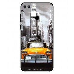 Durable New York Cover For Huawei Y9 2018