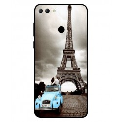 Durable Paris Eiffel Tower Cover For Huawei Y9 2018