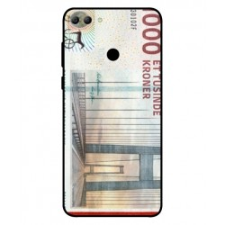 1000 Danish Kroner Note Cover For Huawei Y9 2018