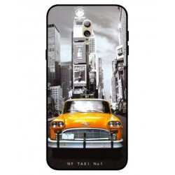 Durable New York Cover For Samsung Galaxy C7 (2017)