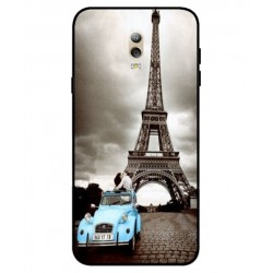 Durable Paris Eiffel Tower Cover For Samsung Galaxy C7 (2017)