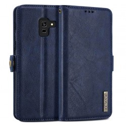 Folio Wallet Cover For Samsung Galaxy A8 2018