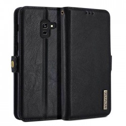 Folio Wallet Cover For Samsung Galaxy A8 Plus 2018