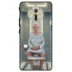 Durable Queen Elizabeth On The Toilet Cover For ZTE Nubia Red Magic