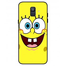 Durable SpongeBob Cover For Samsung Galaxy A6 2018
