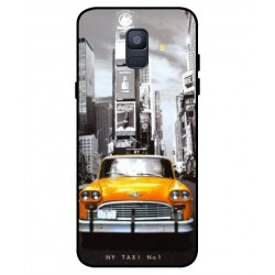 Durable New York Cover For Samsung Galaxy A6 2018