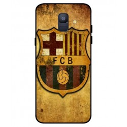 Durable FC Barcelona Cover For Samsung Galaxy A6 2018