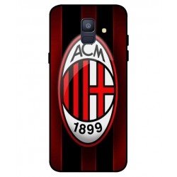 Durable AC Milan Cover For Samsung Galaxy A6 2018