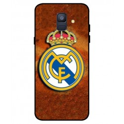 Durable Real Madrid Cover For Samsung Galaxy A6 2018