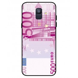 Durable 500 Euro Note Cover For Samsung Galaxy A6 2018