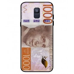 Durable 1000Kr Sweden Note Cover For Samsung Galaxy A6 2018