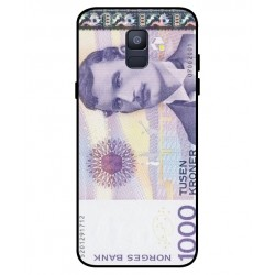 1000 Norwegian Kroner Note Cover For Samsung Galaxy A6 2018