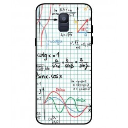 Durable Mathematics Cover For Samsung Galaxy A6 2018