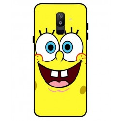 Durable SpongeBob Cover For Samsung Galaxy A6 Plus 2018