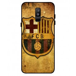 Durable FC Barcelona Cover For Samsung Galaxy A6 Plus 2018