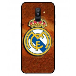 Durable Real Madrid Cover For Samsung Galaxy A6 Plus 2018