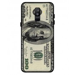 Durable 100 Dollar Note Cover For Samsung Galaxy A6 Plus 2018