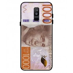 Durable 1000Kr Sweden Note Cover For Samsung Galaxy A6 Plus 2018