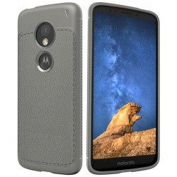 Soft Leather Cover For Motorola Moto E5 Play
