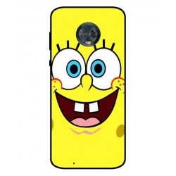 Durable SpongeBob Cover For Motorola Moto G6